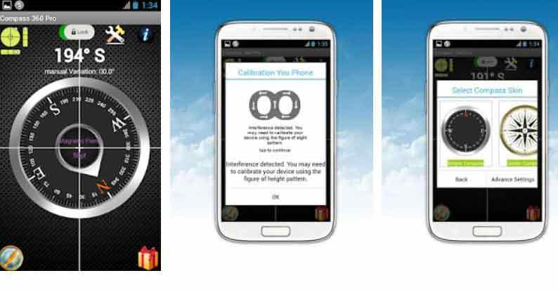 Descargar brujula en linea android
