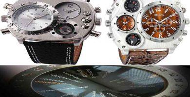 reloj con brujula